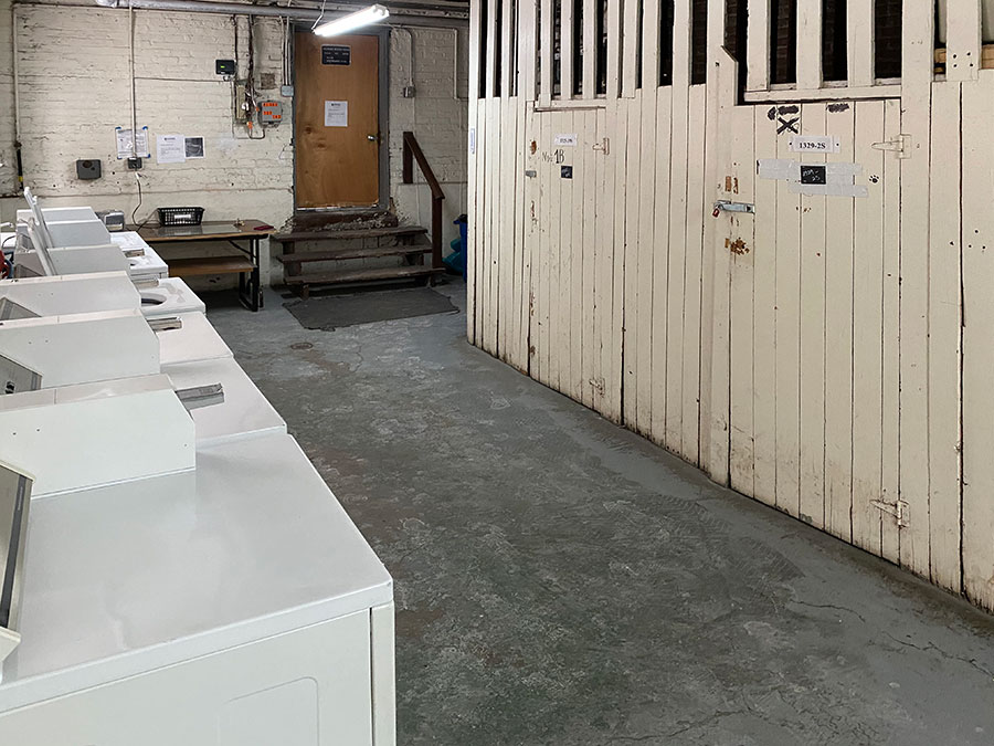 Laundry Room and Storage Units
